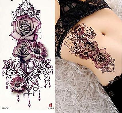 UPUPUPUP Pegatinas de Tatuaje Temporal de Las Mujeres del Arte ...
