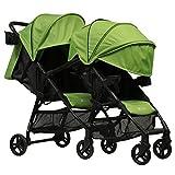 ZOE XL1 BEST v2 TANDEM Lightweight Travel & Everyday Umbrella Stroller System (Aqua)