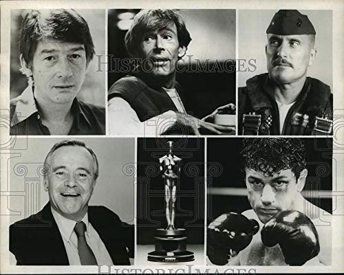 Historic Images - 1981 Vintage Press Photo Nominees for Best Actor at the 53rd Annual Academy Awards.