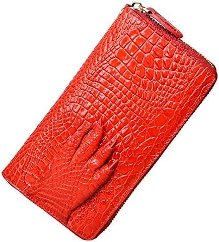 کیف پول کیف پول PIJUSHI کیف پول زنانه تمساح کیف پولکی کیف پول