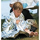 GRAHAM MEDICAL HYPOTHERMIA BLANKET Hypothermia Blanket, Material - Mylar, 52'' x 84'', Individually Packaged in Poly Bag, Insert, Color - Chrome, 50/cs