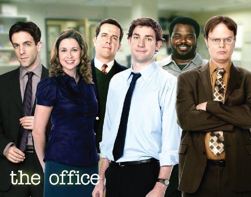 Culturenik The Office (Dunder Mifflin) Cast Group Workplace Comedy TV Television Show Poster Print 11x14 ()
