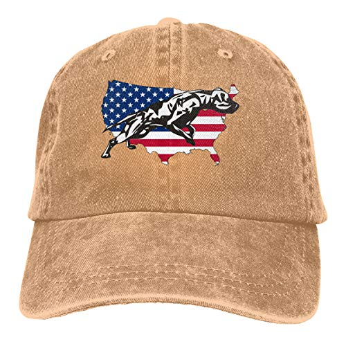 GDPOOL Breeders of American Pit Bull Terrier Mans Baseball Cap Dad Hat (Best Bull Terrier Breeders)