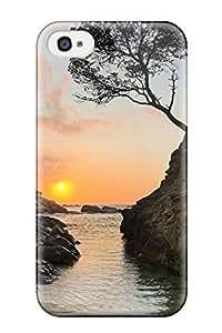 Iphone 5C Case - Eco-friendly Packaging(rocks Earth Water Landscape Nature Landscape) WANGJING JINDA