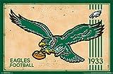 "Trends International Philadelphia Eagles Retro Logo Wall Poster 22.375"" X 34"""