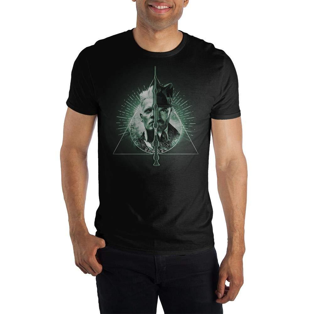 Harry Potter Fantastic Beasts Crimes Grindlewald Dumbledore Adult T Shirt 2088