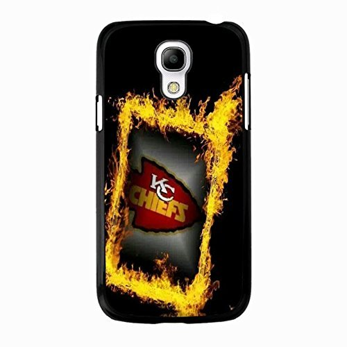 Schwarz Golden fashioanble Design NFL Kansas City Chiefs Handy Schutzhülle für Samsung Galaxy S4 Mini