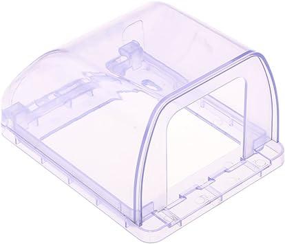 Cubierta de Enchufe de Interruptor de Pared Caja Impermeable para ...