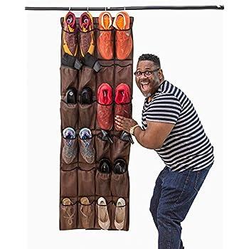 Amazon Com Misslo Over The Door Shoe Organizer 24 Large