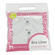 More of Me to Love Bra Liner (Pack of 3) Size M, White