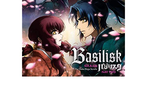 Amazon.com: Basilisk: The Ouka Ninja Scrolls, Pt. 2