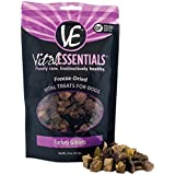 Vital Essentials Freeze-Dried Turkey Giblets Grain Free Limited Ingredient Dog Treats, 2.0 Ounce Bag, Fast Delivery, by Just Jak's Pet Market