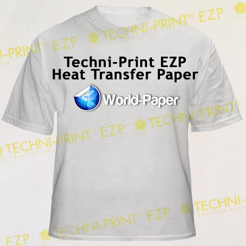 NEENAH TECHNI PRINT EZP LASER PRINTER HEAT TRANSFER PAPER 10 8.5 X 11 SHEETS