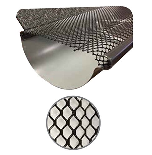 ((100 Feet) Ultra Flo Kwik Fit Leaf Guard Gutter Screens for 6