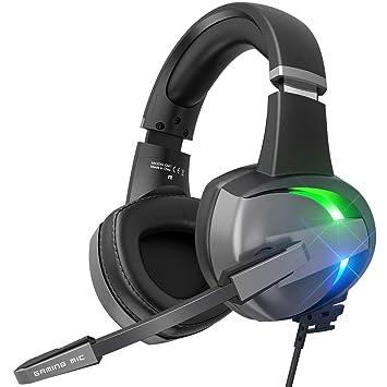 BENGOO Stereo GM7 - Auriculares de diadema para PS4, PC, mando ...