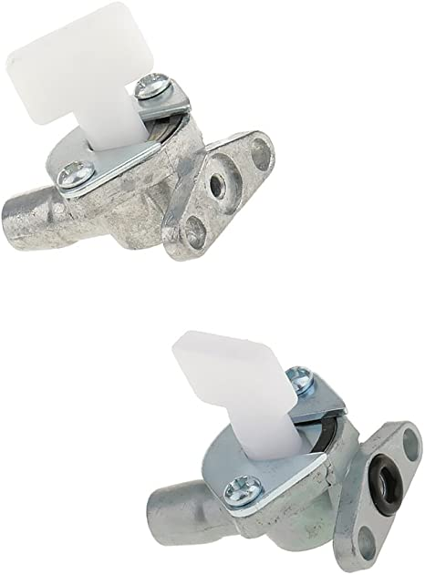 Magideal 2pcs Benzinhahn Benzin Schalter Kraftstoff Tank Für 47cc 49cc Mini Pocket Bike Quad Atv Auto