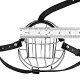 BronzeDog Pitbull Dog Muzzle Wire Basket Amstaff