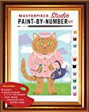 img - for Masterpiece Studio: A Paint-by-Number Kit book / textbook / text book