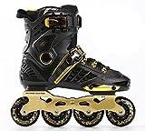 Black-gold urban Inline Skate for adult , 43
