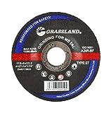 Grinding Disc, Steel Grinding Wheel - 4-1/2'' x 1/4'' x 7/8'' - T27 - (100 Pack)