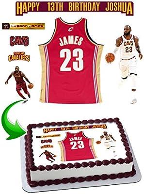 Prime Mua Lebron James 23 Cavaliers Birthday Cake Personalized Cake Funny Birthday Cards Online Necthendildamsfinfo