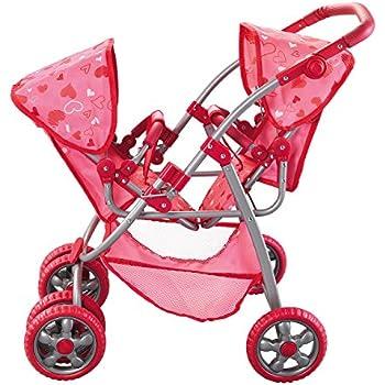 Amazon Com Joovy Toy Doll Caboose Tandem Stroller Pink