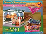 Grand Champions Feed 'n Groom Stable Playset