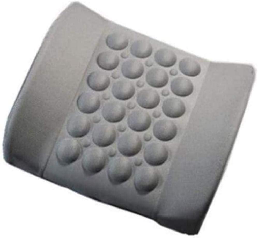 Cojín lumbar para asiento de coche, alivio del dolor lumbar, apoyo lumbar, reposacabezas, cintura y silla de seguridad, cojín Lumba