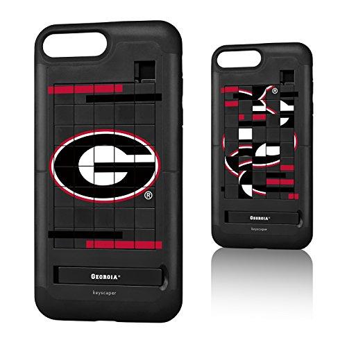 Georgia Bulldogs iPhone 7 Plus / iPhone 8 Plus Puzzle Case NCAA (Square Logo Georgia)