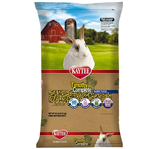 Kaytee Timothy Complete Rabbit Food 9.5 pounds
