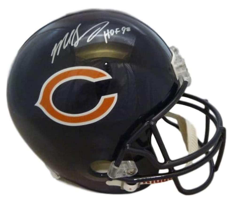 8ced9d75c Mike Singletary Autographed Signed Chicago Bears Replica Helmet HOF JSA