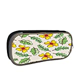 Painting Wallpaper Large Capacity Multi-Layer Pencil Case Back To School Choice Black