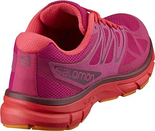 Marigold Bright Running para Salomon Trail Rojo 36 Sangria Mujer Zapatillas White de Sonic EU W wyqq17T4