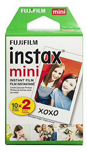 Fujifilm Instax Mini Film, Twin Pack (20 Exposures)