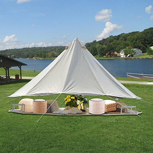 PlayDo Waterproof 5M Cotton Bell Tent for Travelling C&ing Hiking & PlayDo Waterproof 5M Cotton Bell Tent for Travelling Camping ...