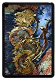 arts sunflower seeds - Rikki Knight Van Gogh Art Four Sunflowers gone to Seed Design iPad Air 2 Smart Case for Apple iPad Air 2 Full Coverage Ultra-thin smart cover (iPad Air ONLY - not for NEW iPad)
