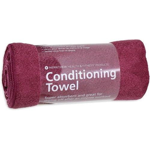 Merrithew Microfiber Conditioning Towel (Wine), 12 x 44 inch/30 x 112 cm