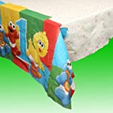 : Sesame Street 1st Birthday Plastic Table Cover (1ct)