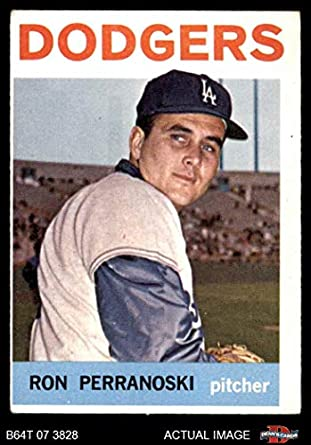 b6fd8774203 1964 Topps   30 Ron Perranoski Los Angeles Dodgers (Baseball Card) Dean s  Cards 3