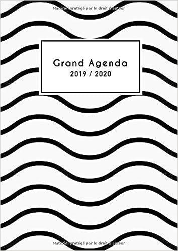 Grand Aagenda 2019 2020: Mon Agenda au Quotidien 2019/2020 ...