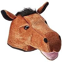 Accesorio del partido del sombrero de la cabeza de caballo de la felpa (1 cuenta) (1 /Pkg)
