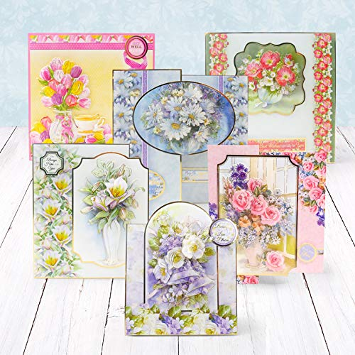 Hunkydory Floral Wishes Designer Deco-Large Collection
