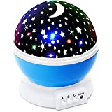 Lizber Baby Night Light Moon Star Projector 360 Degree...