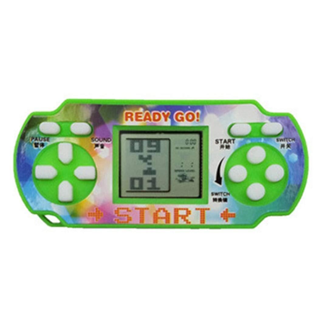 Penpos Classic Tetris Game Console Handheld Game, Mini Game Console, Electronic Game Console, Good Gift for Kids 9 x 4 x 4cm (Random Color) by Penpos (Image #5)