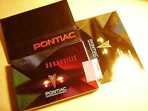 2000 pontiac bonneville owners manual pontiac amazon com books rh amazon com 1999 Pontiac Bonneville 2000 pontiac bonneville repair manual pdf