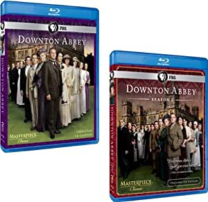 Downton Abbey: Complete Seasons 1 & 2 (5 Blu-ray Discs)