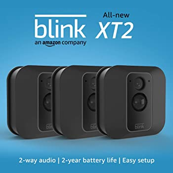 Blink XT2 3-Camera Indoor/Outdoor Wire-Free 1080p Surveillance System