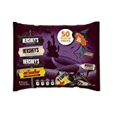 HERSHEY'S Lovers' Halloween Snack Size Assortment (22.5-Ounce, 50 Pieces)