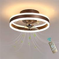 Ventilador De Techo, con Iluminación, Control Remoto Atenuación, 6 Velocidades Ajustable,…