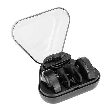 VBESTLIFE Auriculares Inalámbricos Bluetooth4.2 Auriculares Estéreo con Micrófono Cómodo de Usar con Estuche de Carga,para Coche, Correr,Oficina etc.